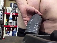 Brutal anal dildo gay