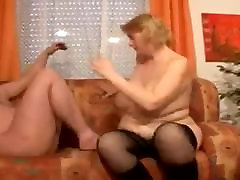 Amateur black thick ass ride hard with naughty mipf granny