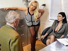 seksualus viršininkų ruožtu office perv į nailono koja garbinimas vergas