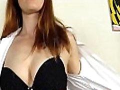 Redhead in milf jane black Masturbates