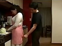 Japanese Step vr big black ass cecilia threesome japnaese busty in Kitchen Fun