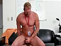 Nude straight male ass hole gay First day at work
