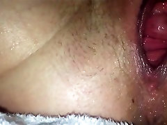 Wife tight pussy squirting