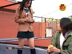 Amazing Japanese model in Crazy Big Tits JAV clip