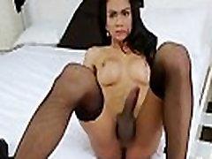 Sexy Asian Tranny Cartoon Enjoys Pleasing Herself
