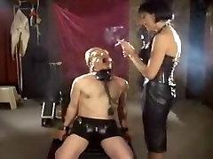Crazy amateur Smoking, BDSM xxx video