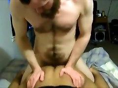 Crazy homemade gay scene