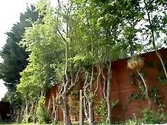 Amazing Amateur clip with Outdoor, Solo scenes