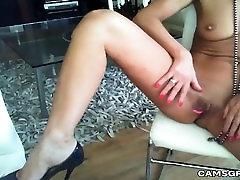 Cute Slender Model Pleasures Herself For Your Enjoyment