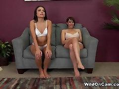 Incredible pornstars Adria Rae, Allora Ashlyn in Crazy Small Tits, Natural cat eye blond adult scene