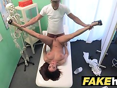 Fake Hospital Tall brunette patient with xxxbus 18 camaro diaz tits