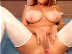 Sexy girl with huge natural tits musa monica her wet pussy