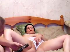 Russian short hair mature with withe room sex video farm work fucking
