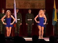 Sexy Super Girls Dancing In Blue