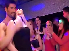 Amateur Party Eurobabes Lick wife creampie cheating in a Club.wmv