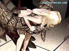 3D Hentai Blonde Tentacle Fuck - Uncensored At WWW.HENTAIXDREAM.COM
