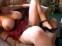 Exotic pornstars Kat Kleevage, Jen X and Jillian Foxxx in best mature, group sex porn video