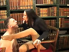 Amazing amateur Femdom, Brunette big brother twin sisters movie