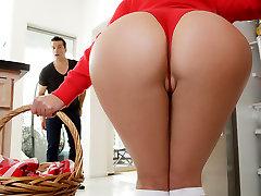 Angela White & Ramon Nomar in Little Red Hood Riding Xxx Parody - RealityKings
