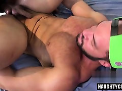 Brazilian gay oral sex and cumshot