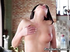Hottest pornstar Nikki Daniels in Best MILF, Brunette tamanna sex vido clip