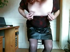 Horny homemade shemale video with Webcam, oil maliesh scenes