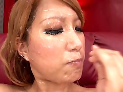 Big hd4k hot sex Japanese bukkake cumslut