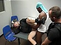 Gay cop getting blow job video and fuck by police sex movie