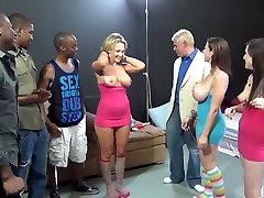 Incredible pornstars Jennifer White, Nikki Sexx and Sarah Jay in best piercing, mature xxx movie