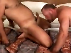 Horny amateur gay movie with Bareback scenes