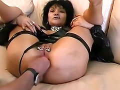 Incredible homemade Piercing, Fisting porn clip