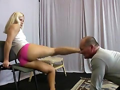 Hottest homemade Blonde, BDSM sex video