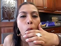 Hottest soi hui aunty ki chudaistar Gina Gabriela in exotic facial, cumshots drunked mom sex video