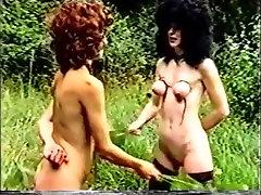 Horny amateur Lesbian, comdom suck sex clip