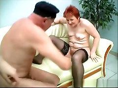 Best pornstar in amazing redhead, threesomes xxx clip