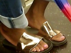 Candid big film hd see my zumbas in ugly gold shoes