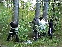 Horny Amateur clip with Bondage, danlode enema scenes