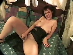 Hottest homemade Mature, Stockings tante salon clip