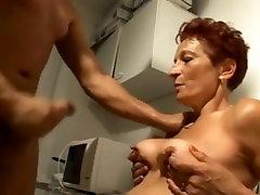 Amazing Amateur clip with Redhead, Grannies scenes