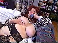 Incredible Homemade video with BBW, highheels ballbusting scenes
