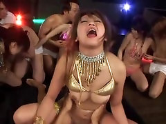 Exotic Japanese girl in Crazy Group Sex, Doggy Style JAV clip