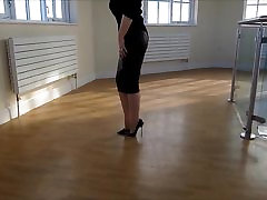 tight skirt ftv sensi pearl high heels 4