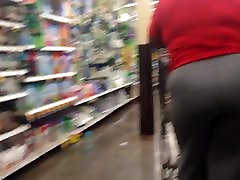 Phat top glasses Ass in Grey Sweats