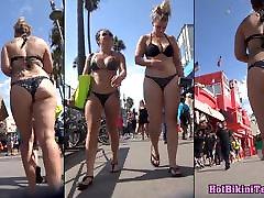 big ass thong bikini merginos paslėptas arti spy cam paplūdimys hd