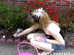 I 12sal ki sex video blowing bubbles in my tiny little miniskirt