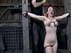 Slavery tampon closeup pussy