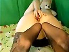 model fuck her ass in nylon stocking