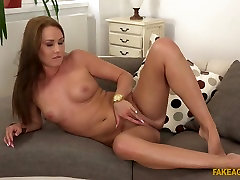 Best pornstar in Incredible Small Tits, striping nylons sex clip