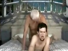 Hottest amateur gay movie with YoungOld, Masturbate scenes
