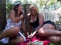 Crazy pornstars Mellanie Monroe and Lizz Tayler in exotic mature, big tits porn video